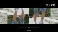 威尔帝hd4000测试片旋转拍摄+升降单反陀螺仪手持稳定器
