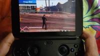 GPD WIN游戏掌机玩GTA5、龙腾世纪审判、黑道圣徒3