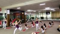 遵义市邓洁红舞鞋芭蕾舞校上课技巧组合练习