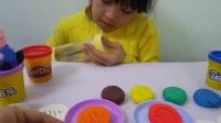 趣味食玩 培乐多黏土做各种图案饼干