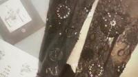 美女设计师 手制丝袜作品!