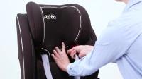 皮斯塔品牌儿童安全座椅安装教程 波西顿座椅全程安装教程 座椅怎么安装与拆卸?汽车儿童安全座椅 isofix安装方法教学