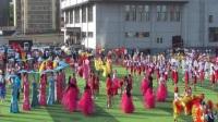 哈尔滨铁路局运动会牡丹江火车头体育场会前联排