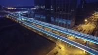 江宁区东山街道:南京南站南广场夜景照明工程