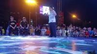 """湖南湘潭""""步步高国际街舞大赛""""popping 决赛啊伟vs片片"""