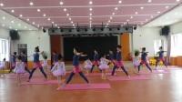 2017实验幼儿园亲子瑜伽《明天你好》