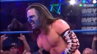 TNA杰夫哈迪悲催了,刚回归就被黑桃A8盯上,多人群
