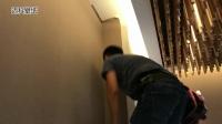 迈科壁纸-贴墙纸施工不溢胶