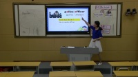小学六年级英语单词教学模拟课堂实录