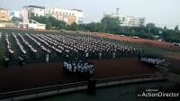 中元中学最美大课间千人兔子舞完整版