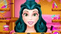 《美女与野兽:贝儿美腿SPA》迪士尼贝儿公主芭比公主解说游戏视频