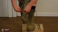 绑腿绳的标准用法