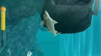 手机游戏饥饿的鲨鱼