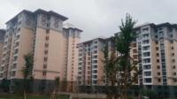 普安县楼下镇易地扶贫搬迁户住进了新家