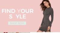 时尚简约 时装企业商店铺模特产品展示 网页广告宣传短片 AE模板
