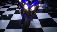 风骑士 2008 YAMAHA YZF R1 原版原漆 欧版带芯片防盗 蓝白