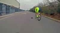 自行车vs迷你玩具车150米短跑比赛看看谁会赢!