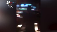 锦州凌河夜市云飞街路口附近发生煤气罐爆炸