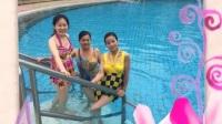 美女们在三角湖游泳会所17-6-19日
