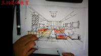 三川手绘室内效果图
