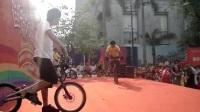 极限单车表演部分