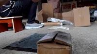 退货河北卖家苹果5手机封箱视频