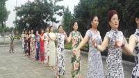 涟源礼仪文化协会旗袍美女走秀
