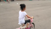 第一次自学会起自行车