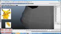 Maya建模比卡丘模型制作与绘制