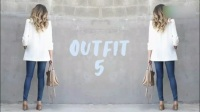 超级显瘦时尚穿衣搭配技巧。