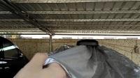 全自动车衣车罩智能遥控车衣移动车库自动车衣车罩防晒防雨