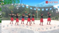 纱纱裙红凉鞋, 大妈们走在国际前沿! 广场舞《红尘永相伴》