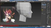3dmax游戏建模次时代美女模型制作与绘制