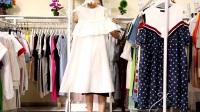 女装批发170627新款大版宽松连衣裙20件一份快递包邮(支持挑款)