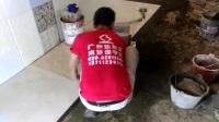 三天学会铺80CM大地板抛釉瓷砖视频