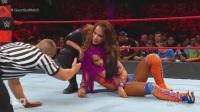 WWE RAW 2017.06.26 Bayley vs. Dana vs. Emma vs. Mickie vs. N