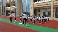 大庆第十幼儿园器械操展示
