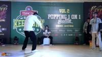 大个(重生舞团) VS 译文|Popping32进16|KFL中国赛区徐州开幕赛