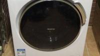 松下洗衣机异响XQG100-E1230--20170628晚棉织物洗-3脱水自动移位