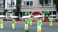 惊呆!幼儿园舞蹈《烟花三月》最新民族舞高清视频!江南女子的温婉动人都表现出来了!