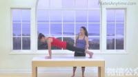 教你如何做标准的普拉提动作-女子健身