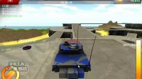 《屌德斯解说》坦克大战3D 上来就被轰上天啊