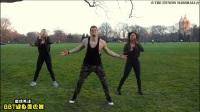 男人跳起健身舞, 骚气十足, 太魔性了