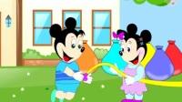 米老鼠和唐老鸭之米老鼠和猫做朋友卡通动画玩具视频26