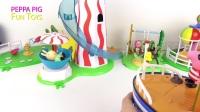 皮帕猪爷爷的船,带着有趣的声音和短语——皮帕猪玩具视频