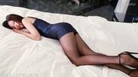 beautyleg vicni美丽女腿模 高跟黑色丝袜套装