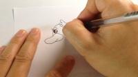 儿童学画画.简笔画可爱的小鸭子