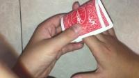 魔术教学: 十指穿越纸牌