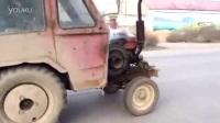 单缸柴油机马力太强劲, 声音太震耳了!