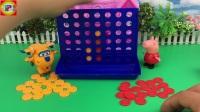 小猪佩奇拆益智玩具 超级飞侠下棋比赛 96